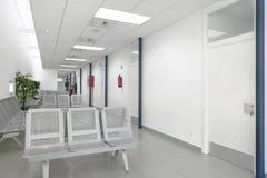 Väntande område för offentlig byggnad Inre för vård- mitt inget arkivfoton