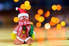 Väntande på jul Arkivbilder