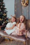 Väntande på jul Arkivfoto