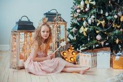 Väntande på jul Arkivfoton