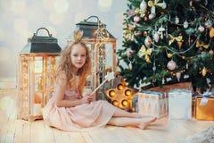 Väntande på jul Royaltyfria Bilder