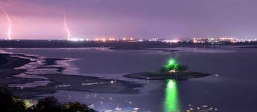 Väntande på regn för torr sjö Royaltyfri Fotografi