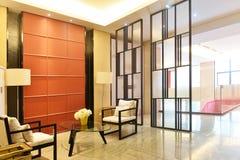 väntande rum för lobby Arkivbild