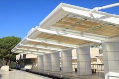 Väntande station för enskenig järnväg Royaltyfria Foton