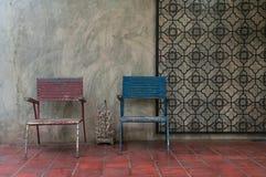 Väntande stol Royaltyfria Bilder