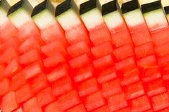 Värde - som tillfogas från vattenmelon Royaltyfria Bilder