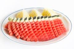 Värde - som tillfogas från vattenmelon Royaltyfri Bild