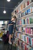 Värdefull bok Bokhandelbegrepp Forum av utgivare publicera arkivfoto