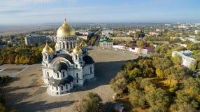 Värdsuppstigningdomkyrka Novocherkassk Ryssland Arkivbilder