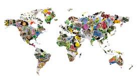 värld Arkivbild