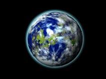 värld 3d Arkivfoto