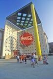Värld av cocaen - cola, Atlanta, Georgia fotografering för bildbyråer