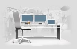 Värld av den grafiska designen stock illustrationer