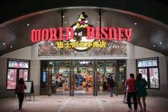 Värld av det Disney lagret på Shanghai Disneyland i Shanghai, Kina fotografering för bildbyråer