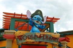 Värld av Disney Arkivfoto