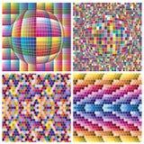 Värld av färger royaltyfri illustrationer