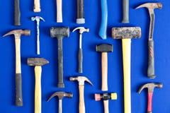Värld av hammare Arkivbild