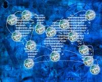 Värld av internet Royaltyfri Bild