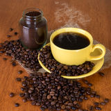 Värld av kaffe Royaltyfri Fotografi