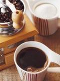 Värld av kaffe Fotografering för Bildbyråer
