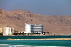 Värld-berömt hälsohemkomplex på det döda havet Royaltyfri Foto