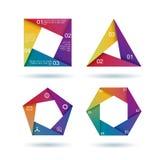 värld för översikt för information om diagraminfographics set Fotografering för Bildbyråer