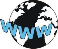 värld för 2 internet Royaltyfria Bilder
