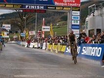 värld för 2008 2009 koppcyclocross Royaltyfria Foton