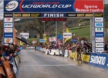 värld för 2008 2009 koppcyclocross Fotografering för Bildbyråer