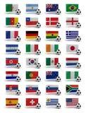 värld för 2010 kopp stock illustrationer