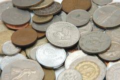 värld för 3 valuta Arkivfoto
