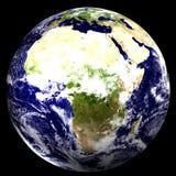 värld för 3d africa Arkivbild