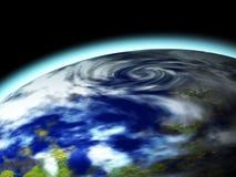 värld för baner 3d Arkivbilder