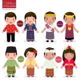 värld för barnillustrationvektor