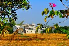 värld för byar för diaolouarvkaiping lokal Royaltyfria Foton