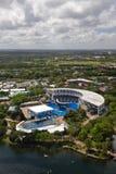värld för florida havsstadion Arkivbild