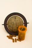 värld för heath för omsorgskostnader Arkivbild