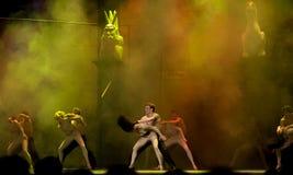 värld för pari för damedansde drama berömd notre Royaltyfri Fotografi