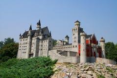 värld för park för skärbrädalåsmodell royaltyfria bilder