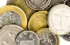 värld för pengar för myntsamling Arkivbilder