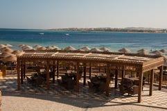 Värld för semesterortMakadi Sunwing vatten Fotografering för Bildbyråer