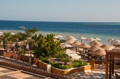Värld för semesterortMakadi Sunwing vatten Arkivfoto