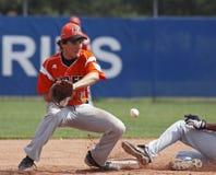 värld för serie för baseballitaly liga hög Royaltyfria Foton