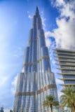 värld för uae för torn för burjdubai khalifa mest högväxt arkivbilder