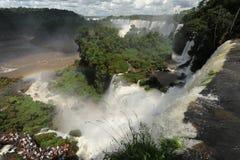 värld för vattenfall för arviguazuunesco Royaltyfri Fotografi