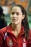 Värld ingen 6 tennisspelare Ana Ivanovic Arkivbild