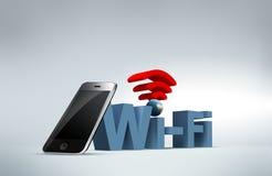 Värld Wi-Fi Royaltyfri Bild