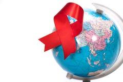 Världen BISTÅR dag 1st den December världen bistår dag Royaltyfri Bild