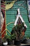 Världen för San Francisco ` s kände igen Balmy grändväggmålningar, 44 Arkivfoto