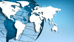 Världen i rörelse vektor illustrationer